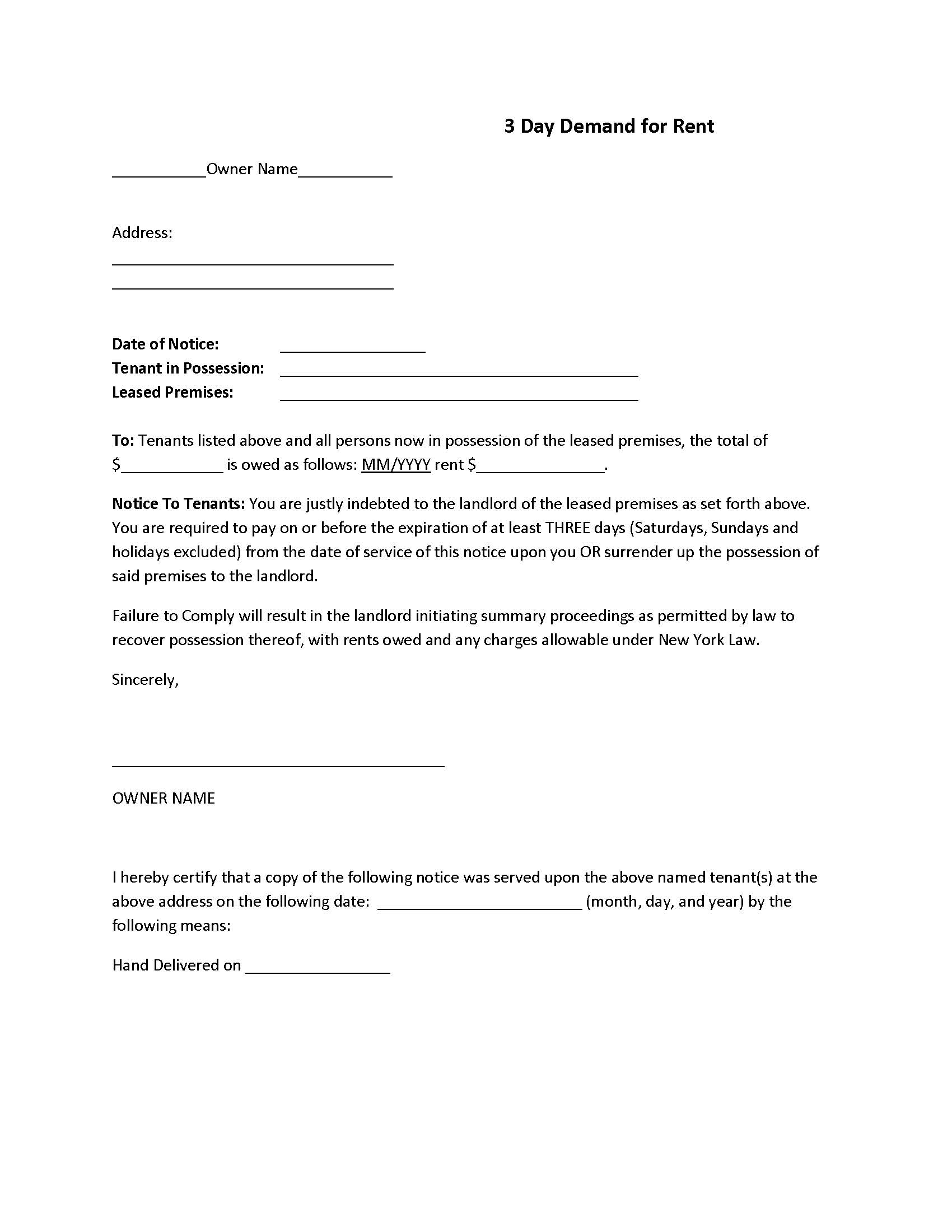 Letter Of Demand Template from www.freeauthorizationforms.com
